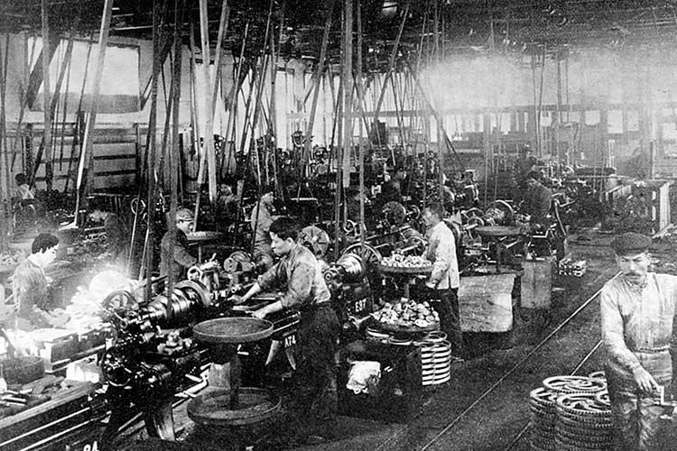 工作機械工場