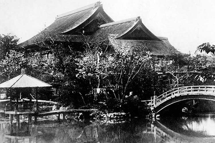 ⑫東陽館庭園(料理旅館)