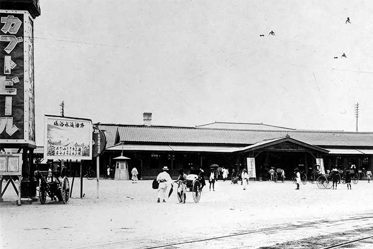 ①名古屋駅(明治時代末)