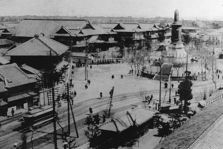 ⑨-1官庁街(明治時代末)