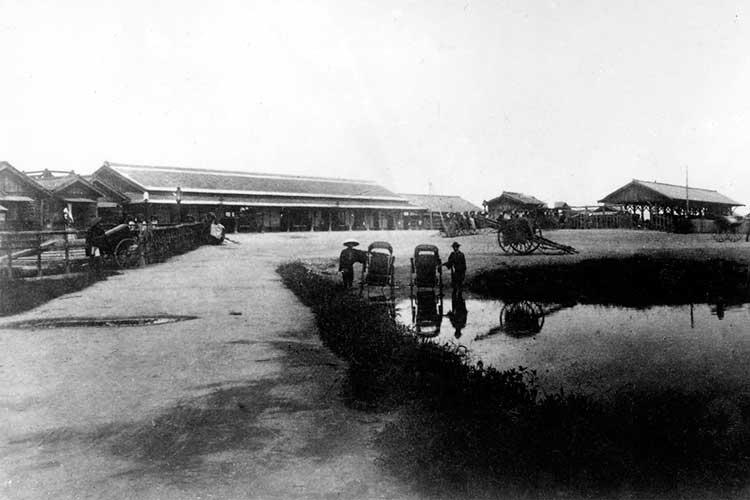 ①-1名古屋駅笹島で開業