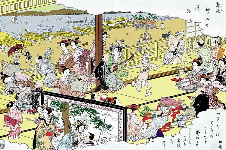 ⑤築地の遊興(神戸)
