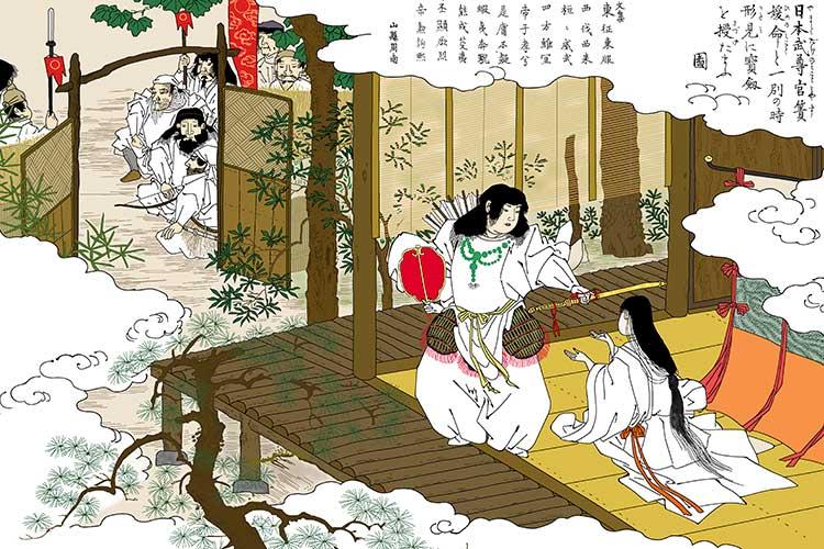⑧-2日本武尊と宮簀媛の別れ