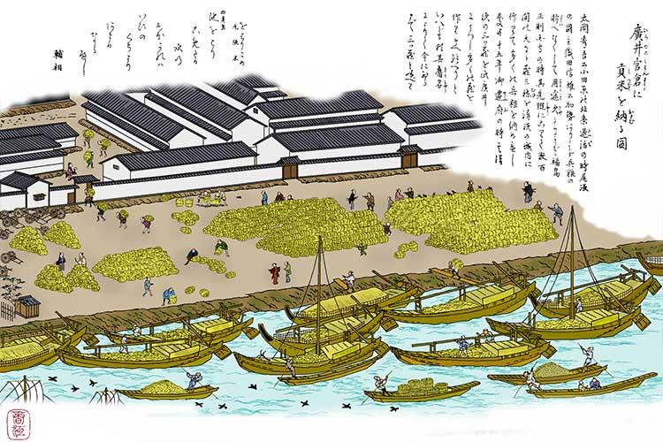 ⑬広井三倉(尾張藩米蔵)
