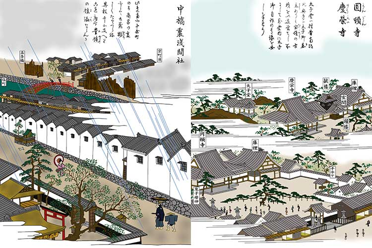 ⑭四間道・円頓寺と慶栄寺