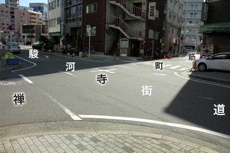 ④現在の東寺町