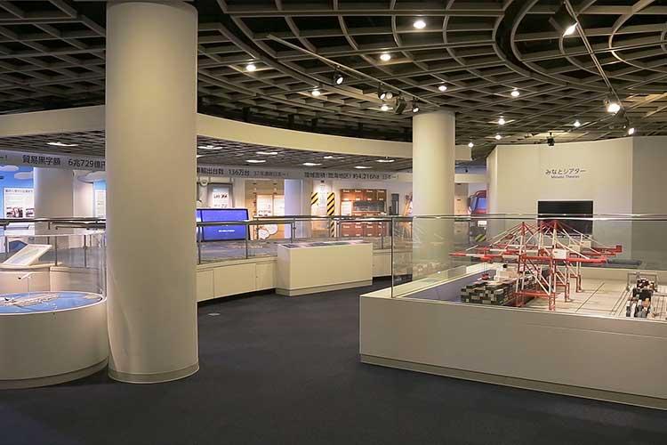 名古屋海洋博物館展示