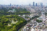 空から見た名古屋 2017