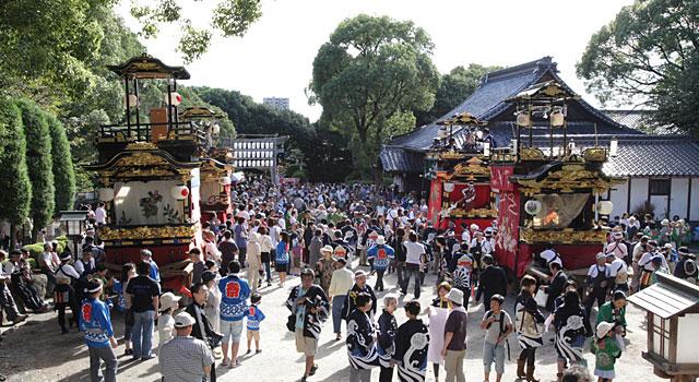 鳴海八幡宮例大祭・成海神社例大祭