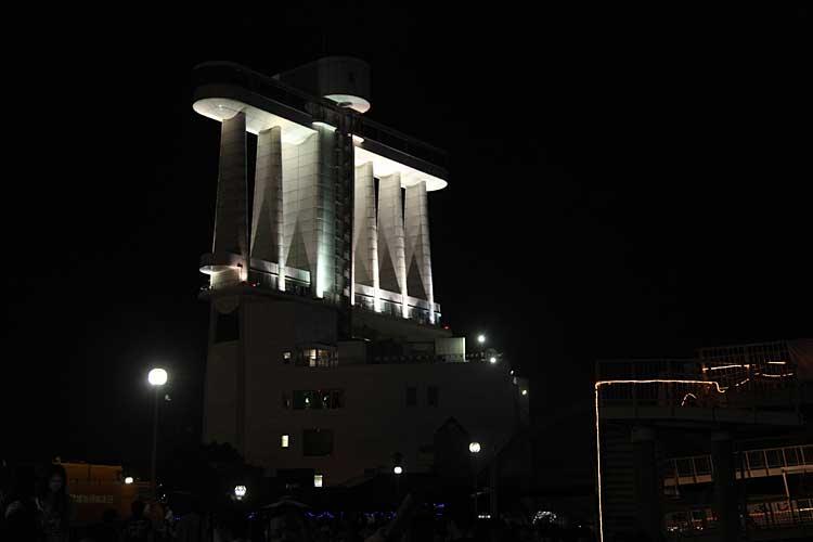 名古屋港ポートビル夜景