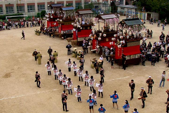 戸田祭本祭山車揃え