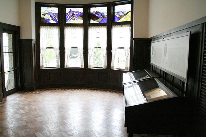 展示室1(旧食堂)