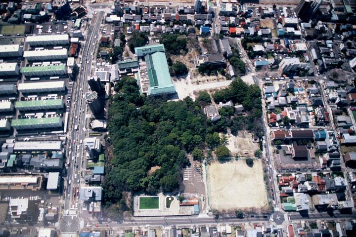 再開前の葵公園