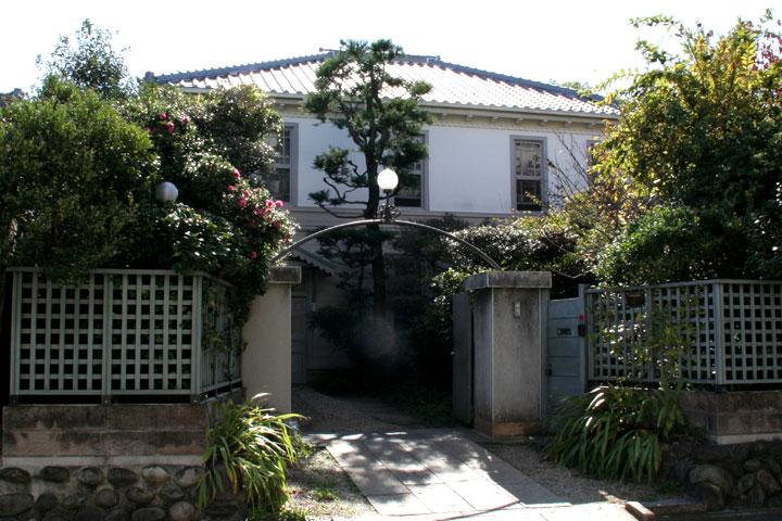 桜井家住宅 帝国撚糸専務の桜井善吉氏の居宅