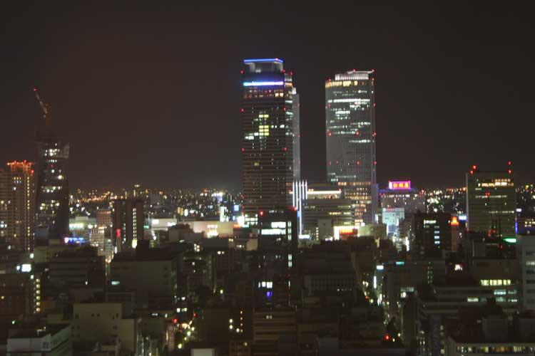 テレビ搭からの展望名古屋駅方面夜景