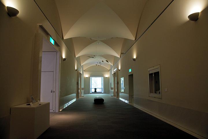 展示室廊下