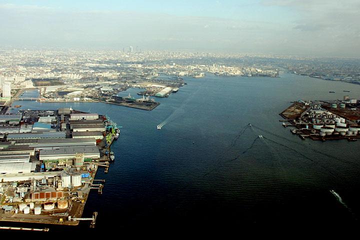 名古屋港 名古屋市広報課提供