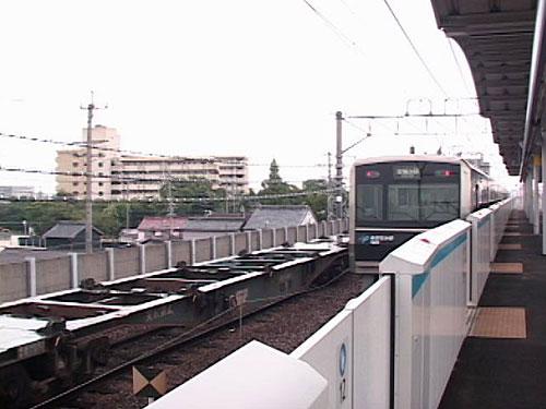 小本駅へ到着