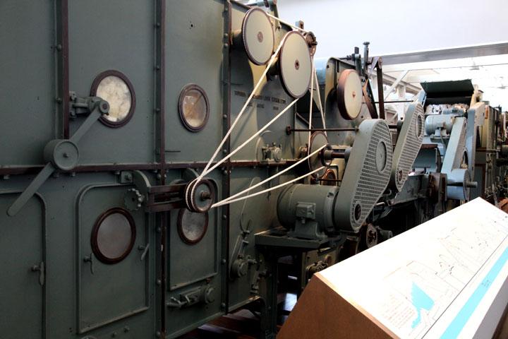 連続自動紡績 混打綿工程