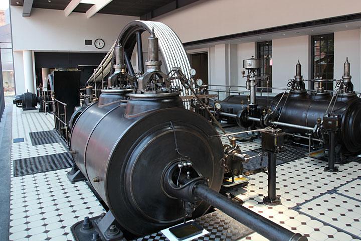 1898年のスルザー社製蒸気機関