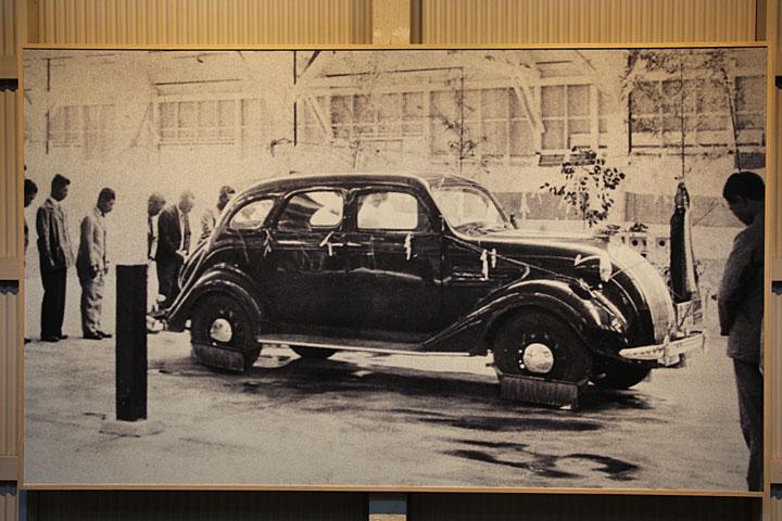 トヨタ初の試作車「A1型」