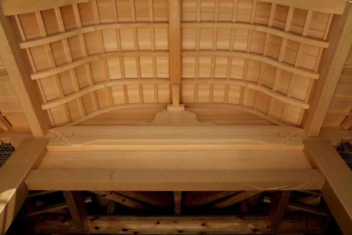 本丸御殿 玄関の屋根