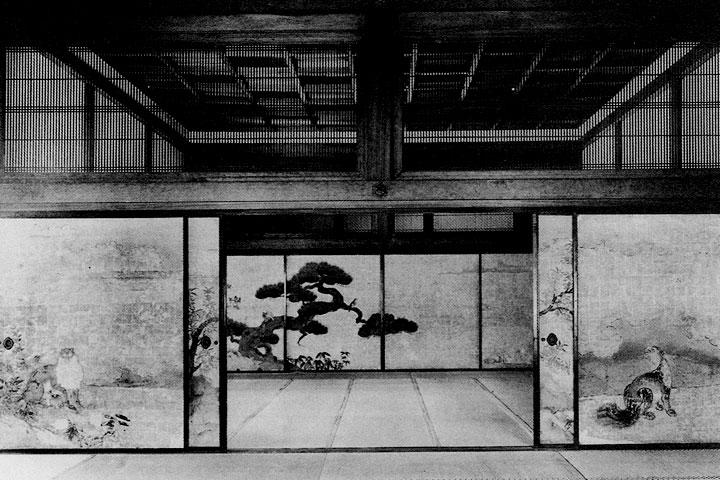 三之間から二之間を望む 画像提供:名古屋城総合事務所2