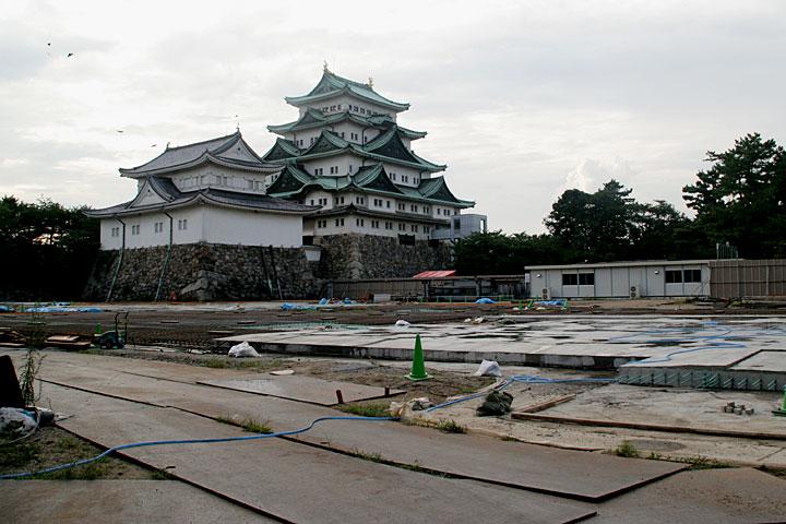 名古屋城本丸御殿復元工事着工