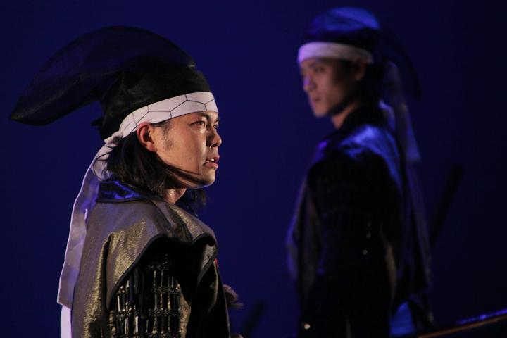 加藤清正(左)、徳川家康(右)