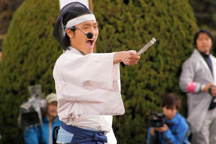 軍を指揮する徳川家康