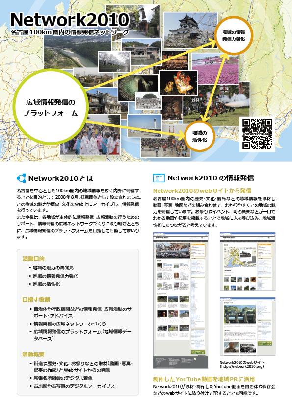 Network2010パンフレット表