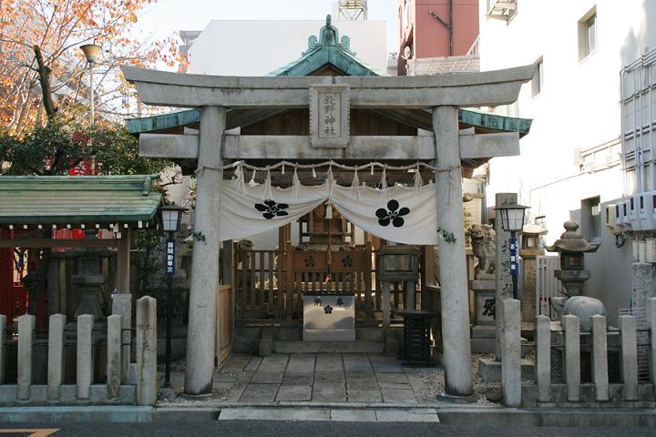 大須観音と同じく、岐阜県羽島市から移転してきたという北野天満宮