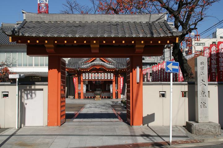 大光院の赤門