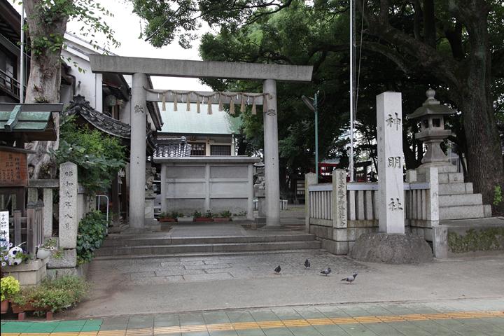 伊勢山町の神明社