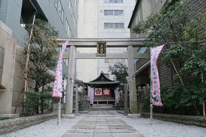 愛知県下でも最も由緒ある天神社とされる桜天神社