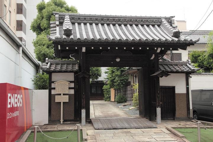 徳川家康の八男 仙千代の菩提を弔う高岳院. 慶長16年に清須越で現在の場所に移転