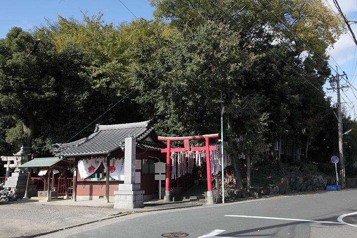 三つの神社が鎮座する丘(愛知県名古屋市北区安井1丁目7)