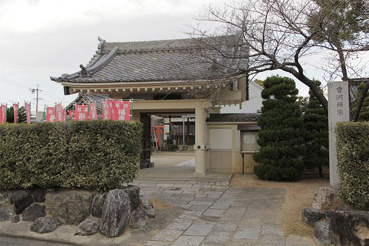 岳桂院 山門