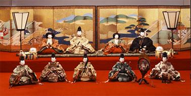 本館リオープン記念特別展「尾張徳川家の雛まつり」