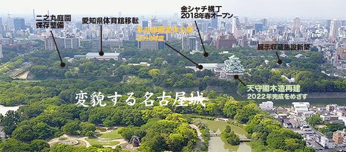 変貌する名古屋城-----INDEX